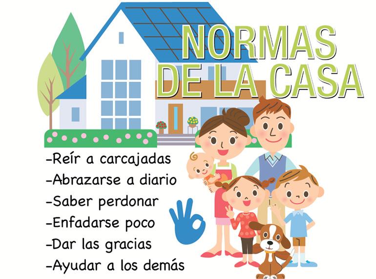 Normas de la casa flashes flashes mi pediatra for Normas de la casa decoracion