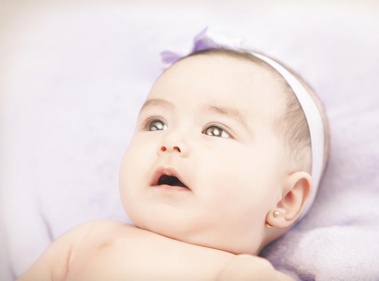 pendientes bebe 9 meses